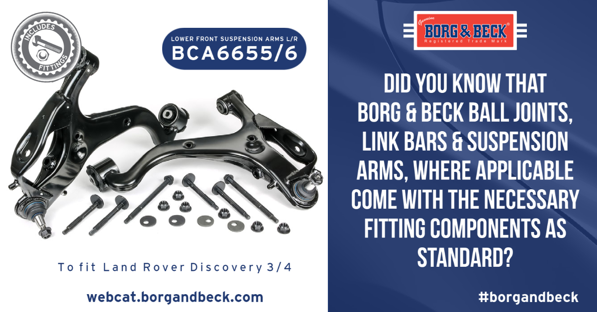 BCA6655/56 Suspension Arms