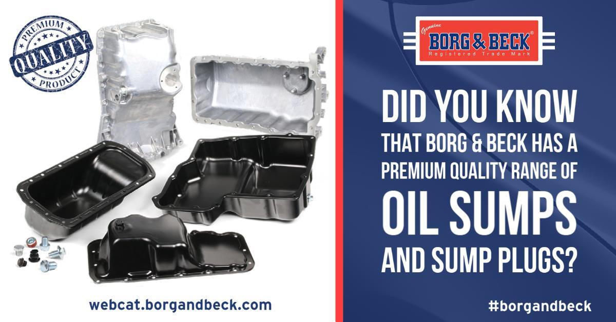 Oil Sump Range (Borg & Beck)